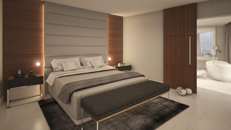 De las 413 habitaciones hay 110 que pertenecen a Red Level, un concepto de hotel boutique dentro de la misma torre.