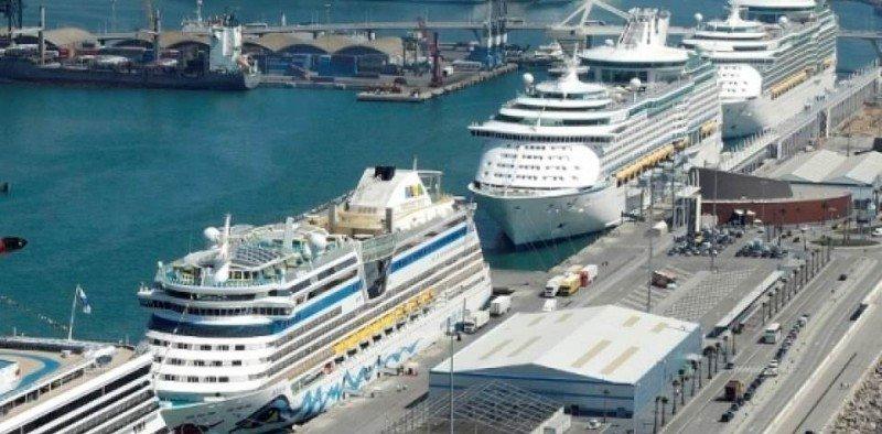Barcelona acumula un 6% más de cruceristas hasta julio