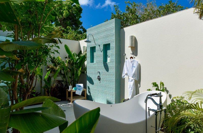 Los límites entre el diseño interior y exterior se han difuminado en los hoteles de lujo del Caribe diseñados por International Design Concepts.