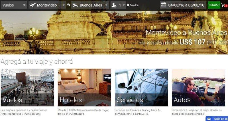 PuenteAereo, una nueva OTA de nicho surgida en Uruguay