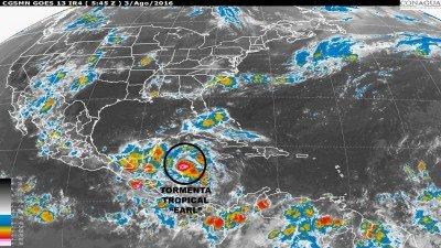 Tormenta tropical Earl se convertirá en huracán antes de llegar a la costa.