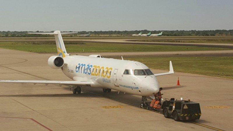 Amaszonas Uruguay lista para volar entre Montevideo y Buenos Aires desde octubre