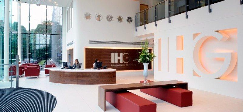 Ingresos directos de Intercontinental Hotels Group son el canal que más crece