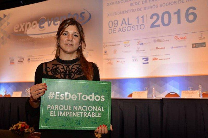 Mora Dicembrino, Ministra de Turismo de Chaco. (Foto: Prensa ministerio de Chaco)