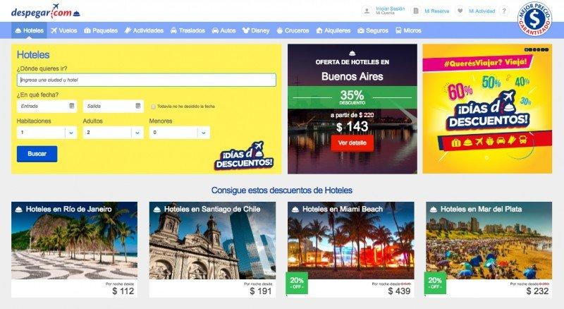 Los viajes al exterior lideraron las ventas de Despegar Argentina este invierno