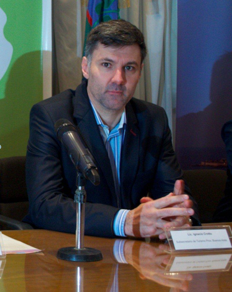 Ignacio Crotto, subsecretario de turismo de la Provincia de Buenos Aires.