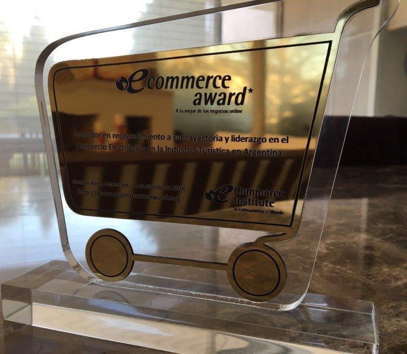 Despegar premiada como líder del e-commerce en turismo