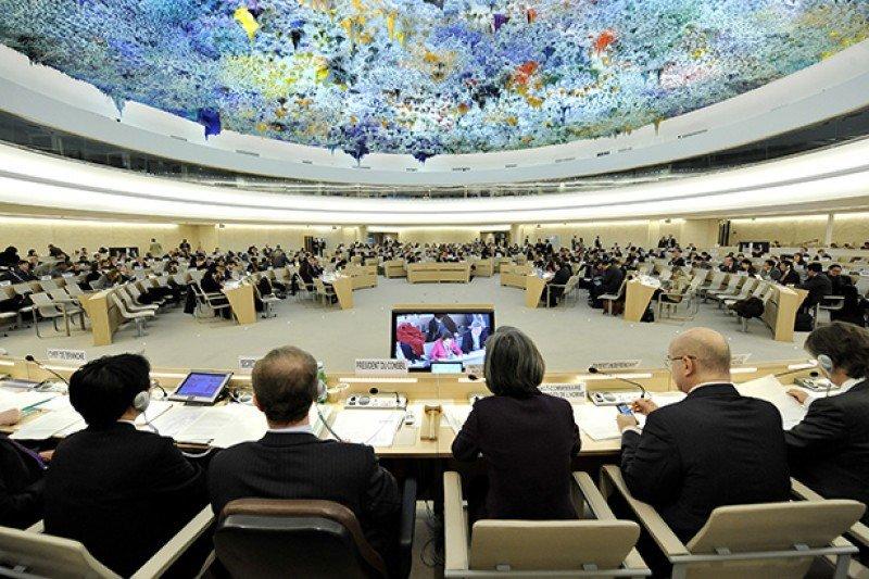 Palacio de las Naciones en Ginebra, sede del Foro.