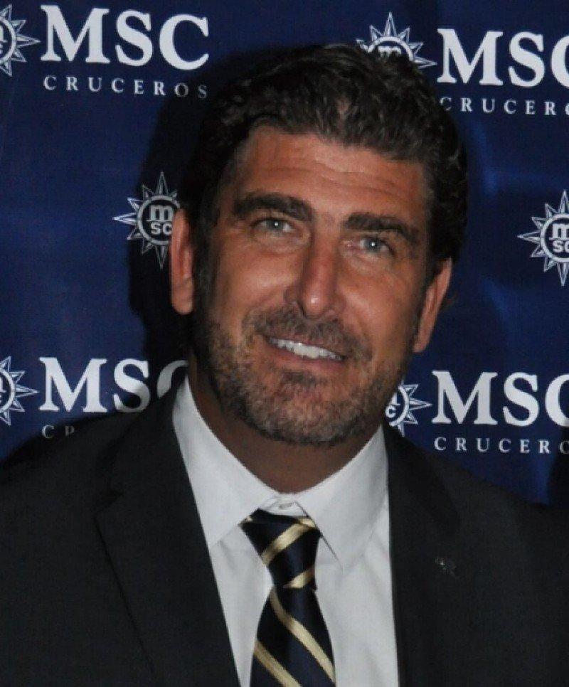 Javier Massignani nuevo director ejecutivo de MSC Cruceros para Argentina.