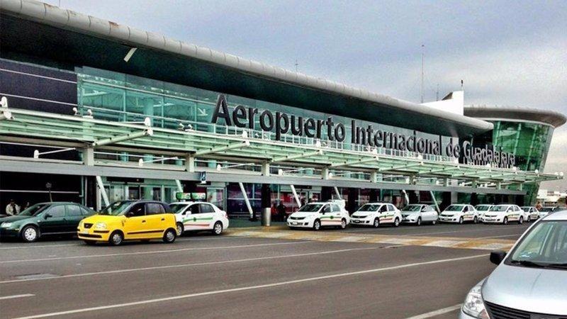 Aeropuerto Internacional de Guadalajara.