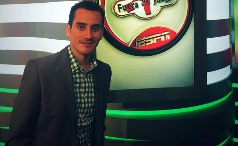 José del Valle, periodista de ESPN.