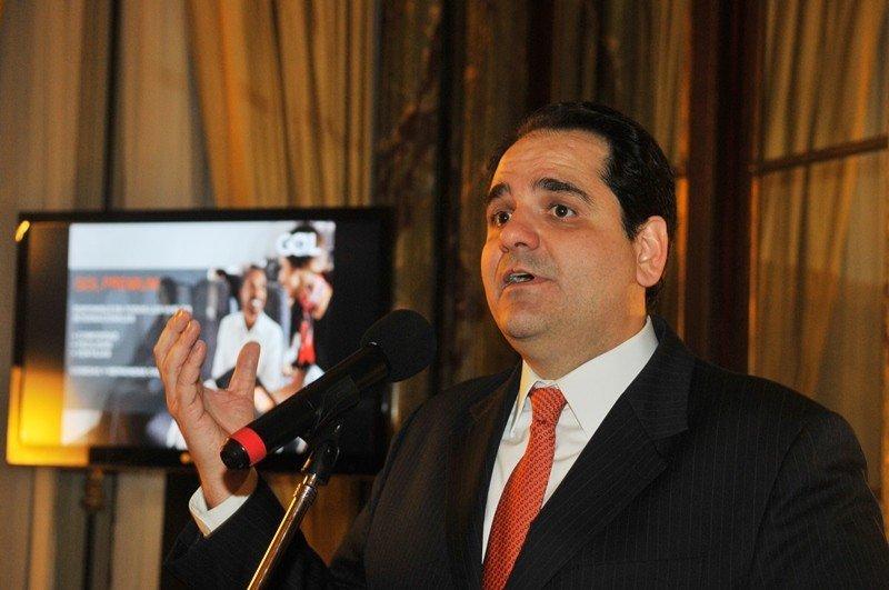 Eduardo Bernardes, vicepresidente de Gol, en su visita a Buenos Aires. Foto: Gol