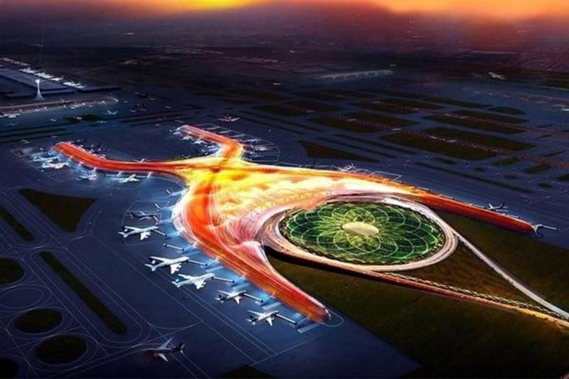 Proyecto del nuevo aeropuerto de México.