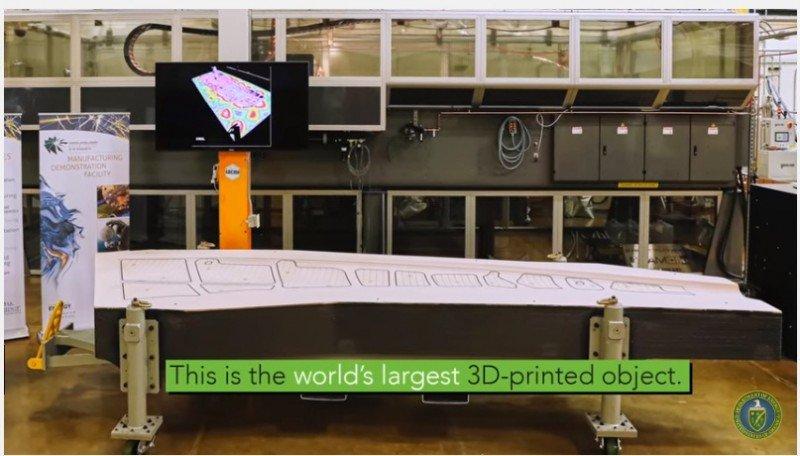 Boeing desarrolla la mayor impresora en 3D del mundo