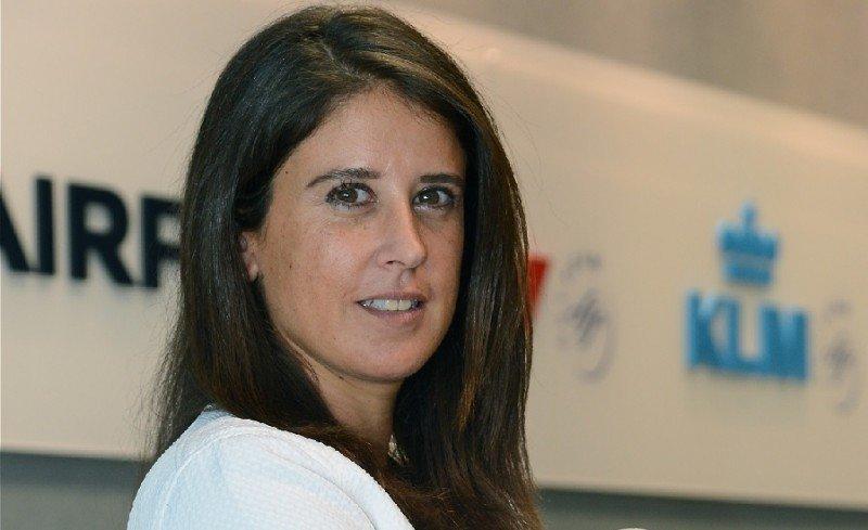 Air France KLM, con nueva directora comercial para España y Portugal, Verónica Catany-Rezk.