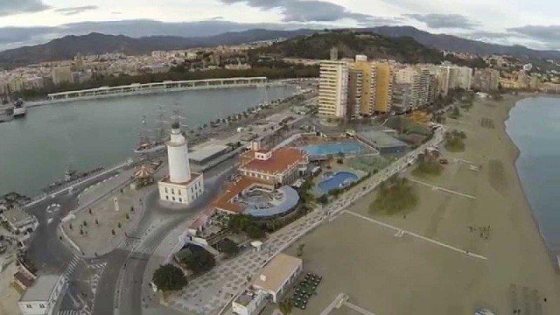 250 M € para el hotel del Puerto de Málaga y un centro comercial