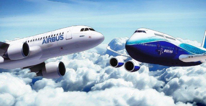 Airbus gana en pedidos y Boeing en entregas