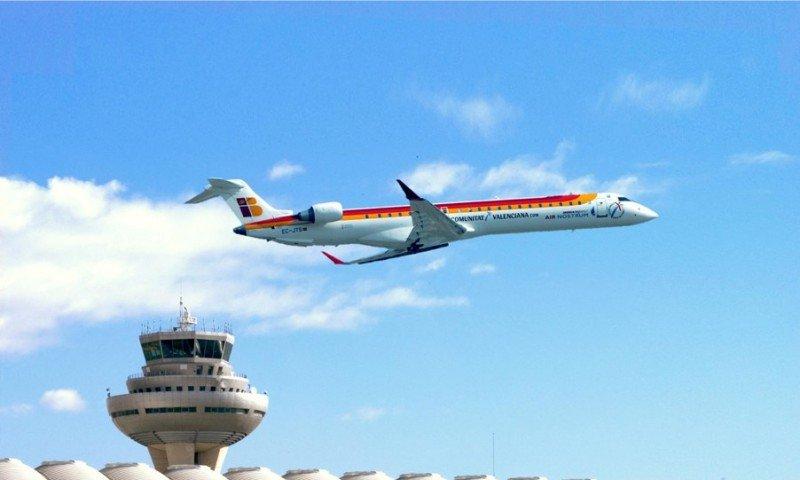 Air Nostrum vuelve a operar la ruta de servicio público Madrid-Menorca