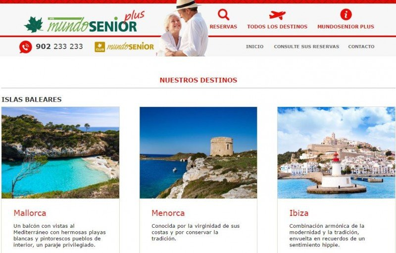 Mundosenior Plus ha estrenado web propia.