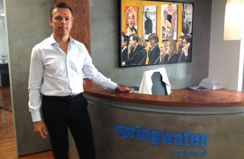 Martin Grushka recibió a este diario en la sede que Springwater tiene en la Gran Vía de Madrid.