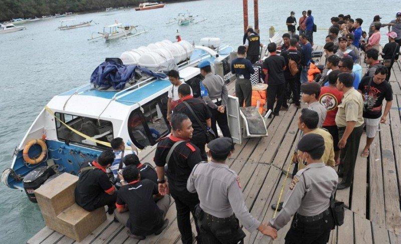 Muere una turista española en un acidente de ferry en Bali