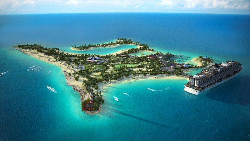 MSC estrenará su isla privada de Bahamas en octubre de 2018