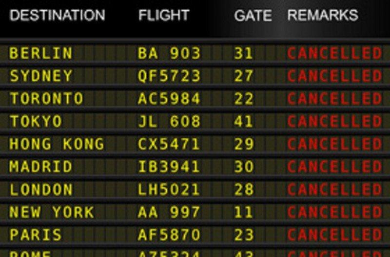 IATA: Europa lleva 1 M de minutos de retraso por huelgas de controladores