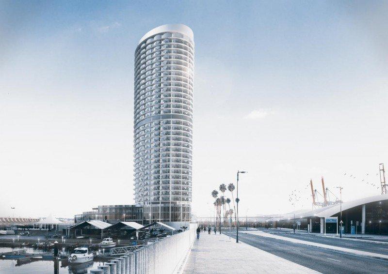 El hotel de lujo del Puerto de Málaga abrirá en 2020