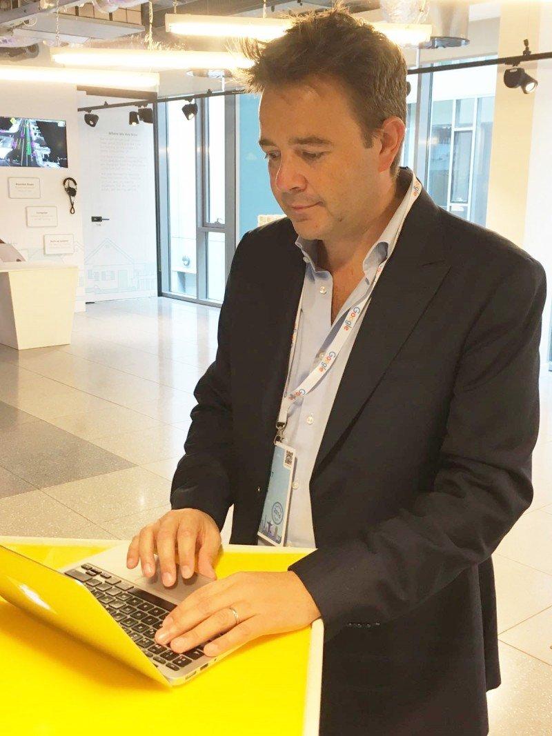 El fundador y CEO de Fastpayhotels, Alex Gisbert.