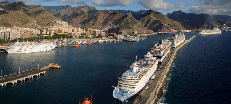 Siete puertos de cruceros españoles en el top 40 de Europa