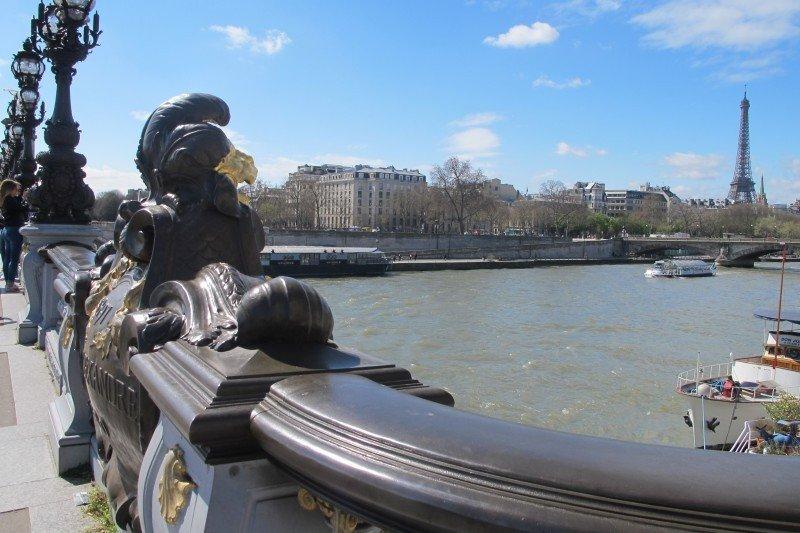 París es la ciudad preferida por los viajeros chinos en sus recorridos de larga distancia.