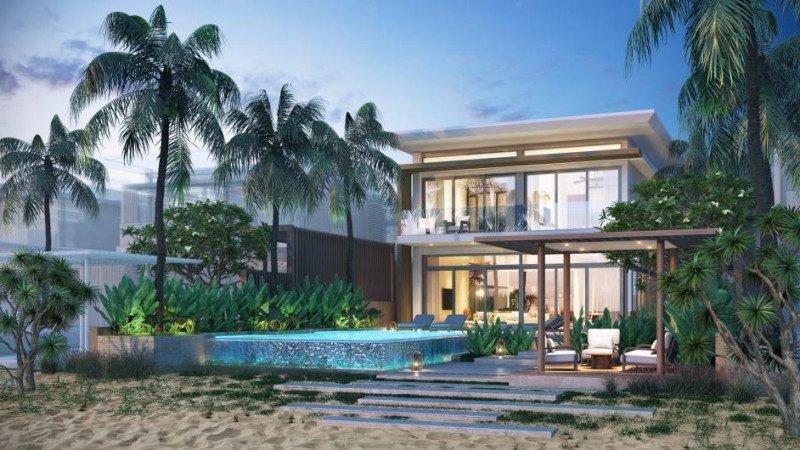 Una de las futuras villas del Meliá Ho Tram.