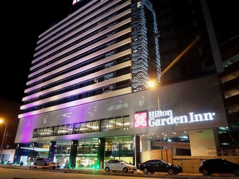 Hilton Garden Inn Montevideo, inaugurado a fines de 2015.