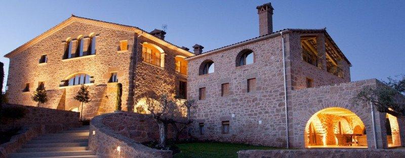 El alojamiento rural obtuvo el mejor resultado en agosto. Foto: Petits Grans Hotels de Catalunya.