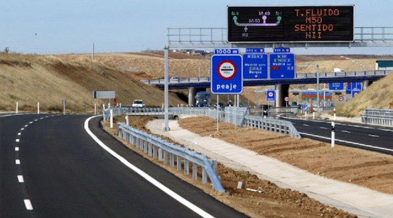 Las radiales de Madrid seguirán operativas y en manos de concesionarias