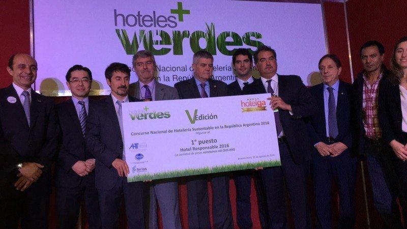 Se entregaron los premios del concurso Hoteles   Verdes