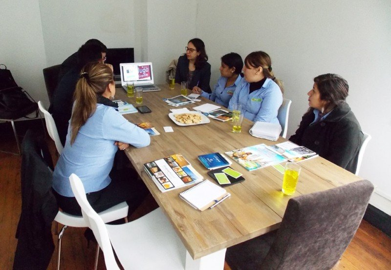 Capacitación de Uruguay en Perú.