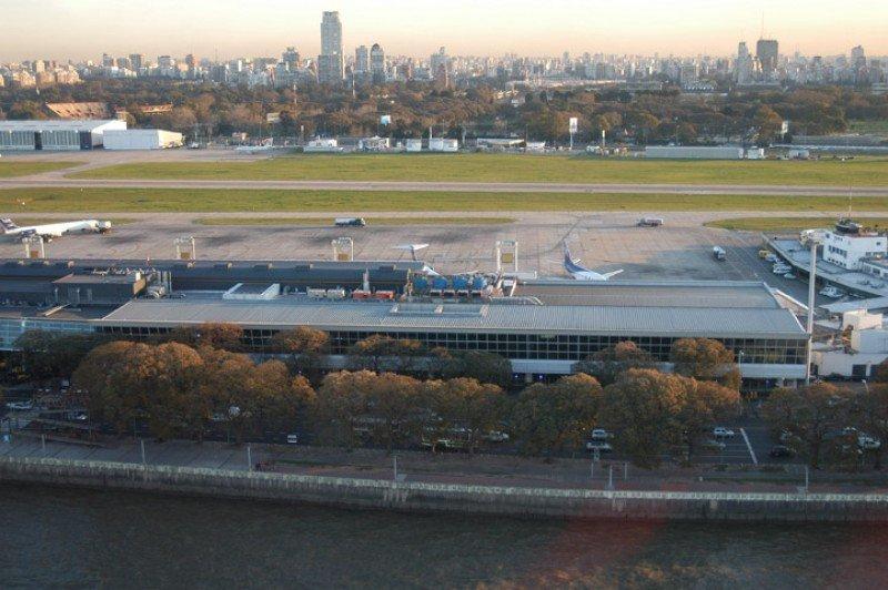 Aeroparque Jorge Newbery (Foto: Aeropuertos Argentina 2000).