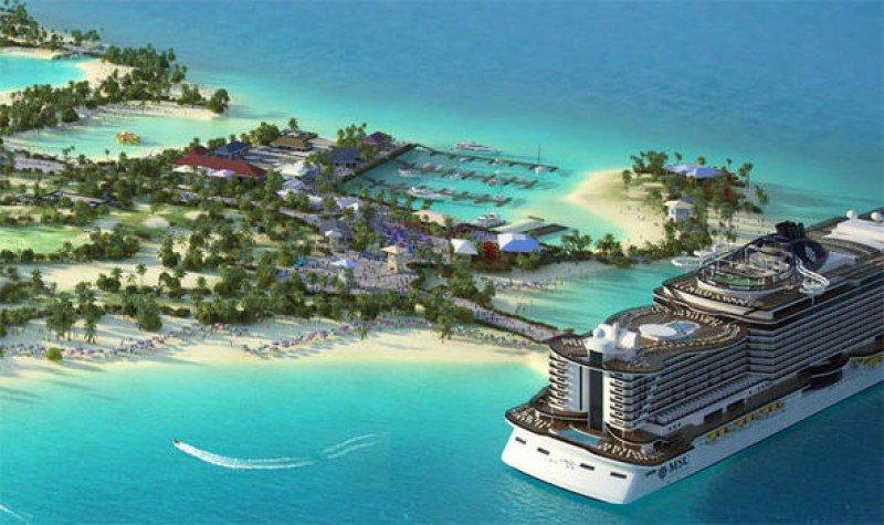 MSC Cruceros extiende hasta octubre de 2018 la apertura de su isla en Bahamas