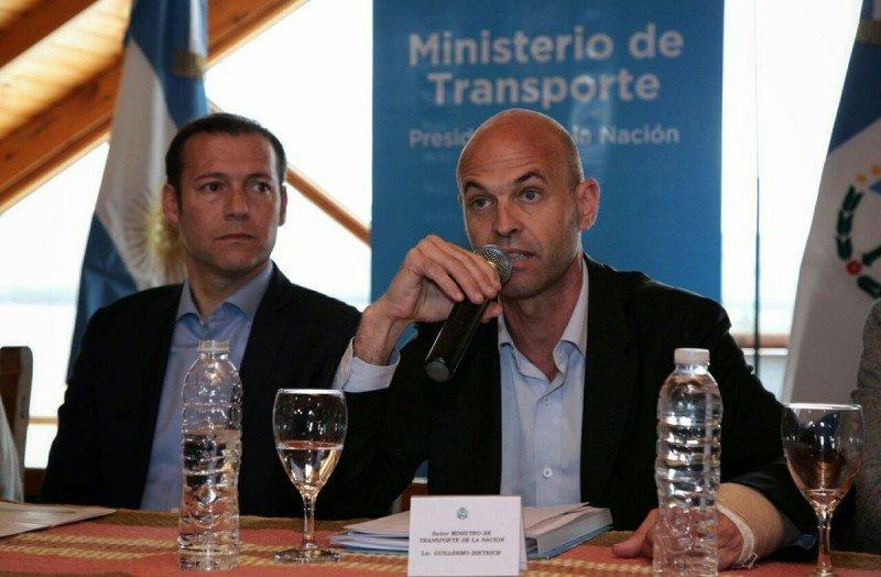 Omar Gutiérrez y Guillermo Dietrich anunciaron obras para la zona de Cordillera.
