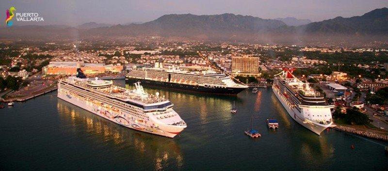 Cruceristas eligen a Puerto Vallarta como el mejor puerto de Latinoamérica