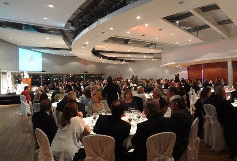 Kibon fue el escenario de la cena de la Cámara Uruguaya de Turismo.
