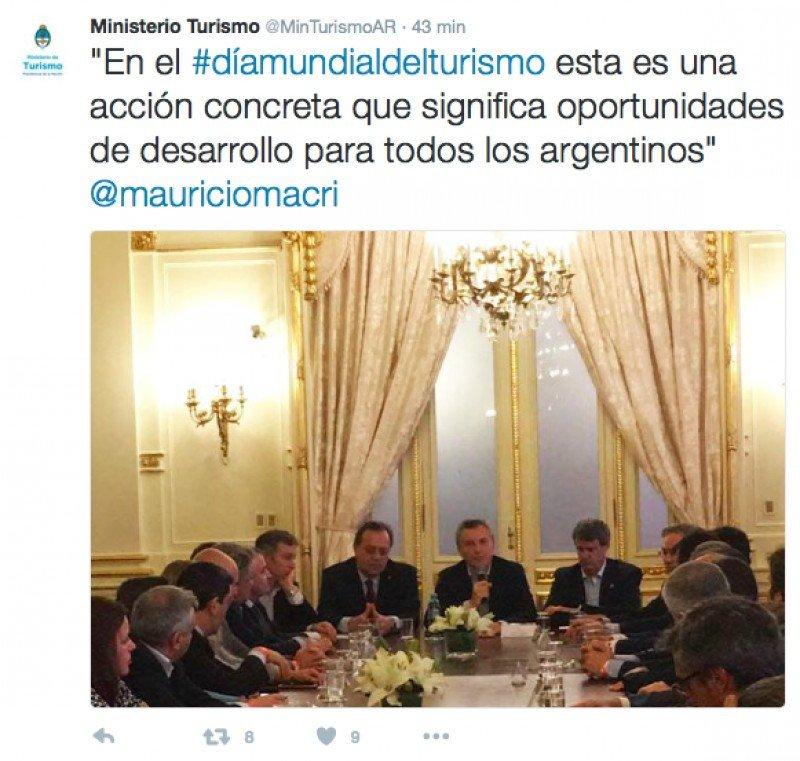 Argentina celebra el Día del Turismo anunciando devolución del IVA a extranjeros