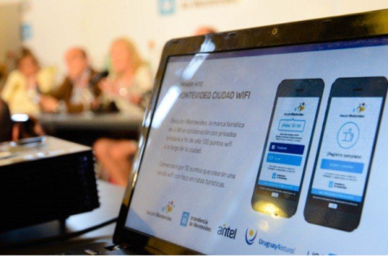 En 100 puntos de Montevideo habrá wifi gratis en ventanas de 15 minutos
