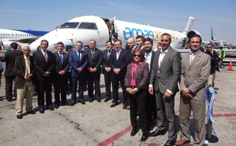 Seis aviones y 10 frecuencias de puente aéreo, los planes de Amaszonas Uruguay