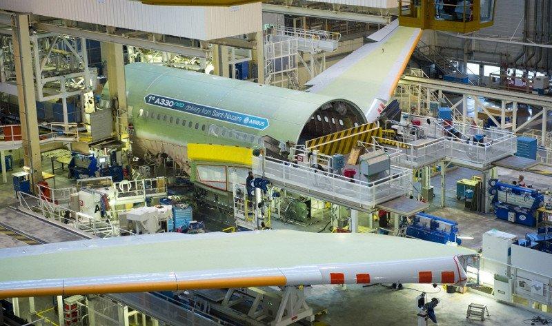 Airbus comienza el montaje final del primer A330neo en Toulouse