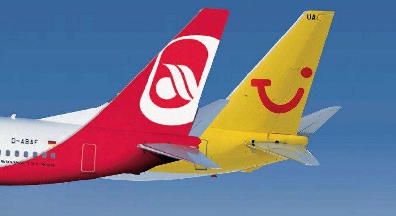 TUI y Etihad crearán un amplio grupo aéreo de ocio al que se une airberlin