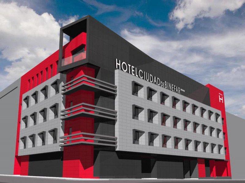 El Hotel Ciudad de Binéfar abrirá en diciembre como uno de los de mayor eficiencia energética del país.