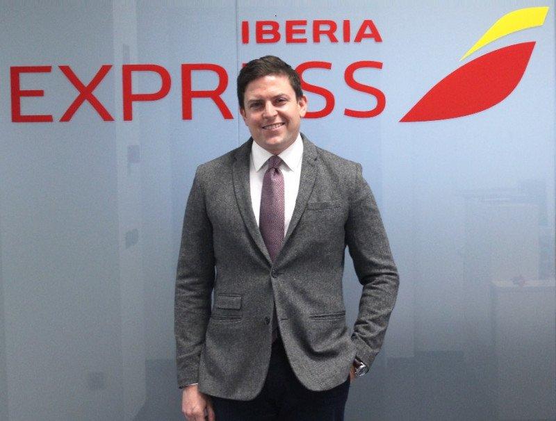 Nuevo director comercial en Iberia Express