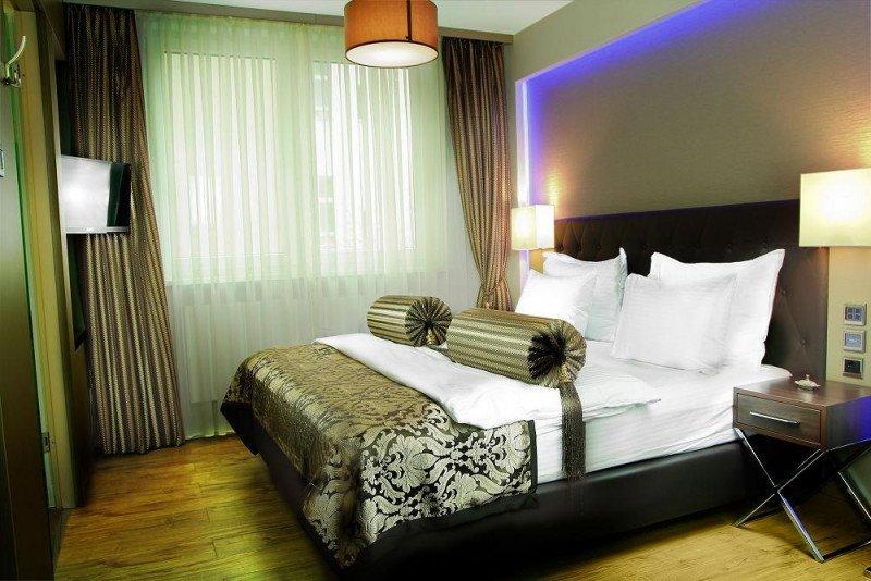 Una de las 86 habitaciones del futuro TWO Hotel Berlín by Axel, de las que 42 serán junior suites.
